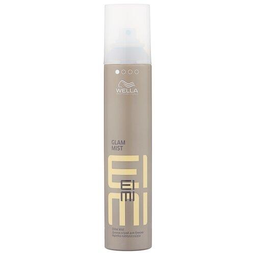 Wella Professionals Спрей-блеск для волос Eimi Glam mist, слабая фиксация, 200 мл wella professionals спрей для укладки волос eimi body crafter средняя фиксация 150 мл