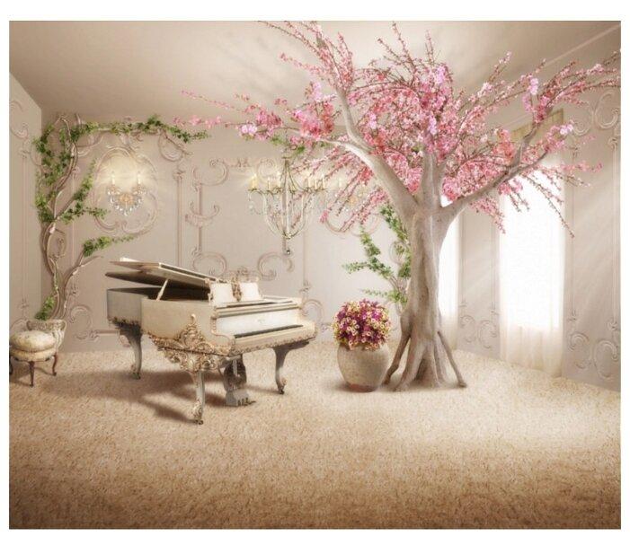 Фотообои флизелиновые Design Studio 3D Комната вдоxновения 2.7х3м