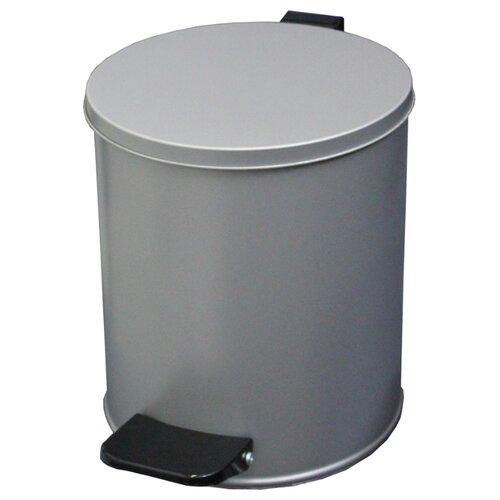 Ведро Титан T15380, 15 л серый металлик