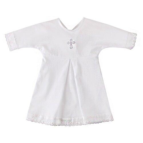 Купить Рубашка Наша мама размер 68, белый, Крестильная одежда