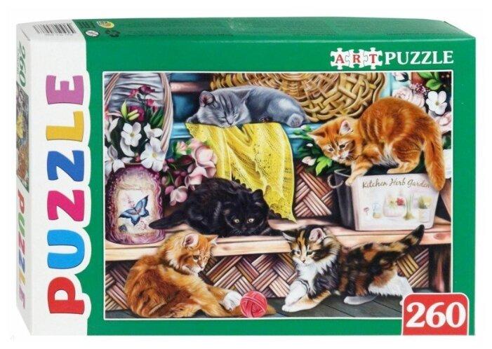 Пазл ART PUZZLE Игривые котята (ПА-4586), 260 дет.