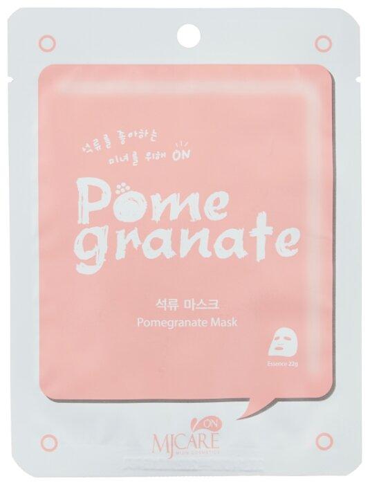 MIJIN Cosmetics тканевая маска Mj Care on Pomegranate с экстрактом ...