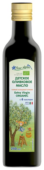 Fleur Alpine Масло детское оливковое Extra Virgin