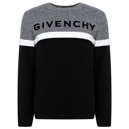 Джемпер GIVENCHY размер 152, черный/серый футболка givenchy размер 152 серый белый