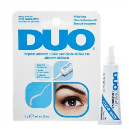 Duo Клей для ресниц прозрачный Clear Lash Adhesive 7 г бесцветный