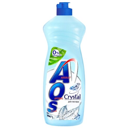 AOS Средство для мытья посуды Crystal 0.9 кг
