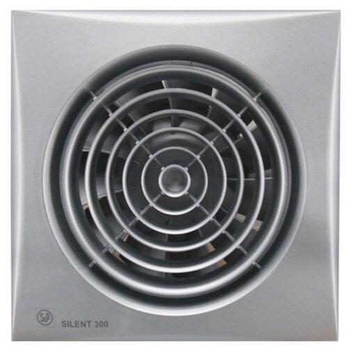 Вытяжной вентилятор Soler & Palau SILENT-300 CRZ, silver 29 Вт вытяжной вентилятор soler