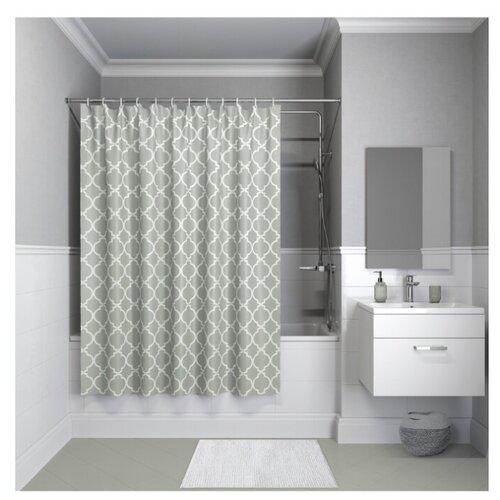 Штора для ванной IDDIS B10P218i11 / B09P218i11 180x200 серый