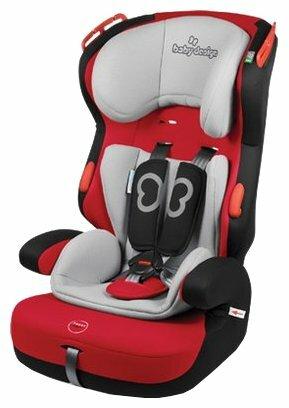 Автокресло группа 1/2/3 (9-36 кг) Baby Design Rino