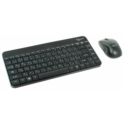 Клавиатура и мышь Gembird KBS-7004 Black USB
