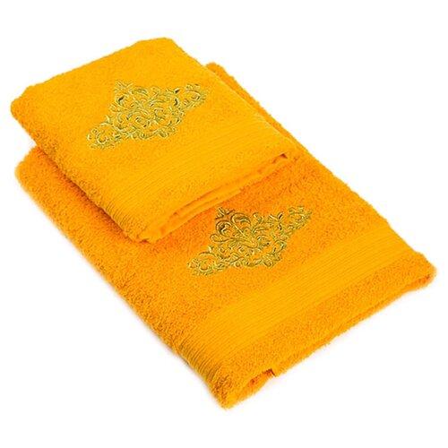 La Pastel Набор полотенец Сильвер желтый