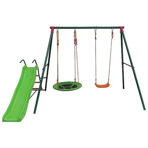 Купить Спортивно-игровой комплекс DFC MSS-02 зеленый, Игровые и спортивные комплексы и горки