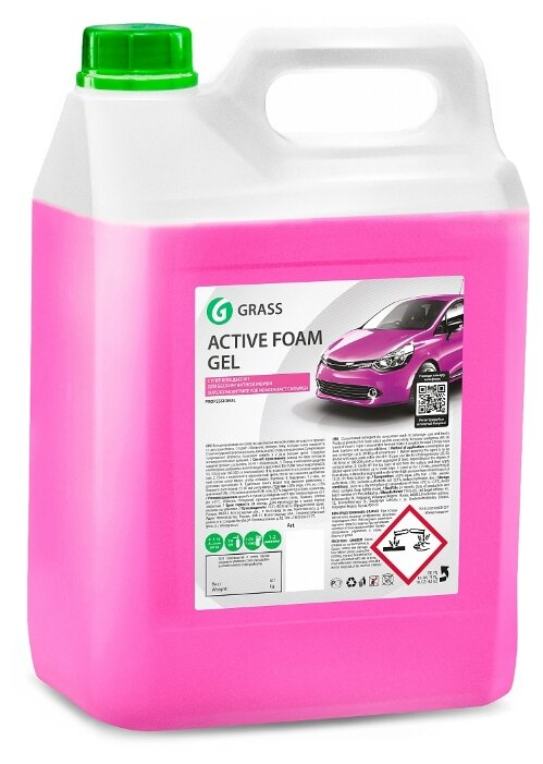 GraSS Активная пена для бесконтактной мойки Active Foam Gel