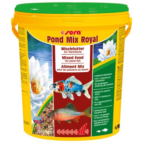 Сухой корм для рыб Sera Pond Mix Royal 20000 мл 3500 г