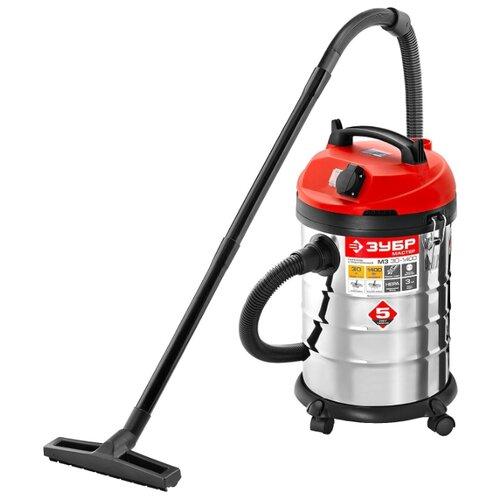 Профессиональный пылесос ЗУБР ПУ-30-1400 М3 1400 Вт