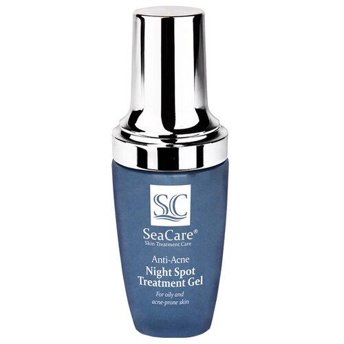 SeaCare Анти-Акне точечный ночной гель Anti-Acne Night Spot Treatment Gel, 30 мл seacare анти акне точечный дневной гель anti acne day spot treatment gel 30 мл