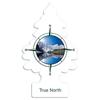 Car-Freshner Ароматизатор для автомобиля U1P-17146-RUSS Сердце севера 12 г