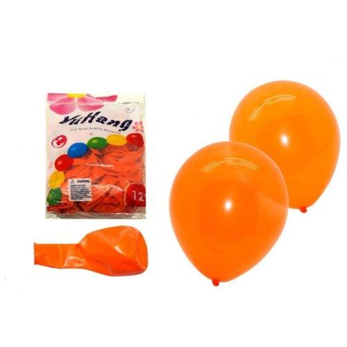 Набор воздушных шаров BEIFA Флюор 30 см (100 шт.) персиковый
