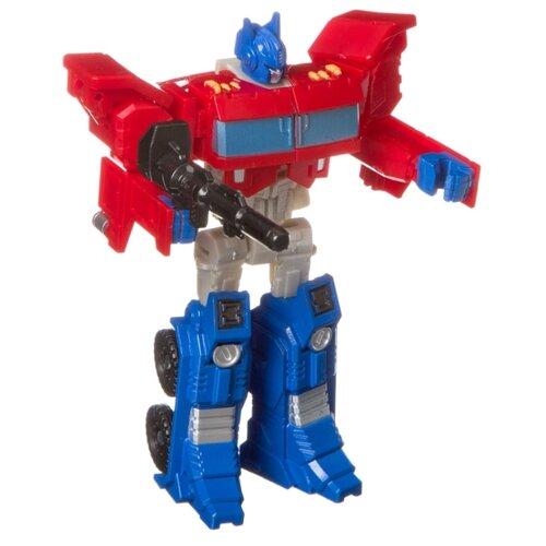 Купить Трансформер BONDIBON Bondibot 2 в 1 Тягач ВВ4358 красный/синий, Роботы и трансформеры