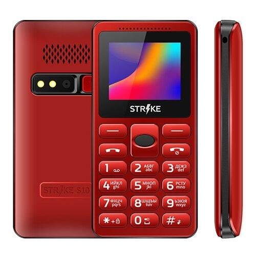 Телефон Strike S10 красный телефон