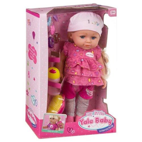 Купить Кукла Shenzhen Toys Yale Baby, Д85847, Куклы и пупсы