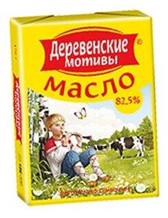 Деревенские мотивы Продукт сладко-сливочный 82.5%, 170 г