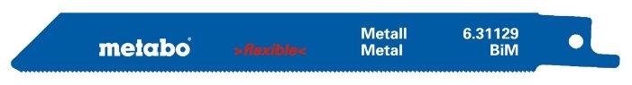 Пильное полотно для сабельной пилы Metabo 631129000 2 шт.