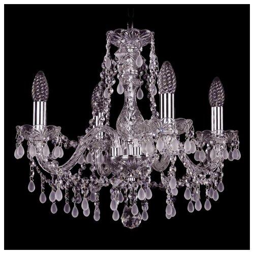 Люстра Bohemia Ivele Crystal 1410 1410/4/160/Ni/V0300, E14, 160 Вт bohemia ivele crystal 1410 6 160 ni v0300 sh2