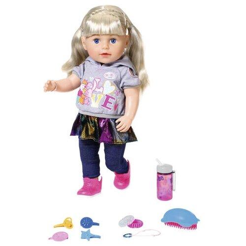 Фото - Интерактивная кукла Zapf Creation Baby Born Сестренка-Модница 2019, 43 см, 824-603 zapf creation baby born одежда джинсовая коллекция 824 498 джинсовый сарафан белая маечка