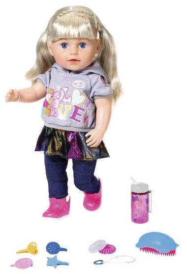 Интерактивная кукла Zapf Creation Baby Born Сестренка-Модница 2019, 43 см, 824-603