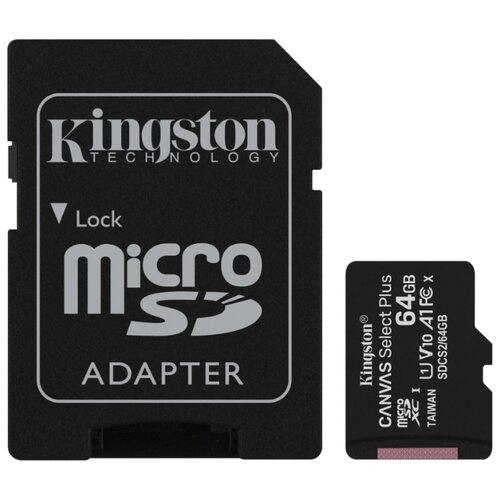 Фото - Карта памяти Kingston SDCS2/64GB карта памяти kingston sdcs2 512gb