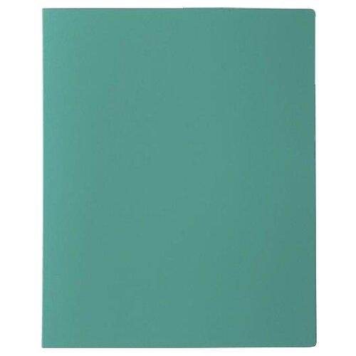 Calligrata Папка на 80 файлов А4, пластик 700 мкм зеленый, Файлы и папки  - купить со скидкой