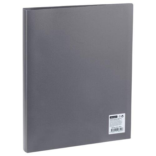 Купить OfficeSpace Папка на 4-х кольцах А4, пластик, 25 мм серый, Файлы и папки