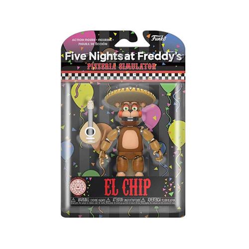 Подвижная фигурка Эль Чип фнаф (Funko Action Figure Five Nights at Freddy's Pizza Simulator El Chip)