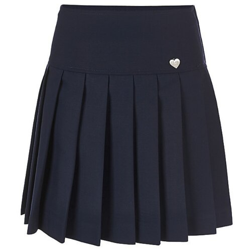 Купить Юбка Button Blue размер 170, синий, Юбки