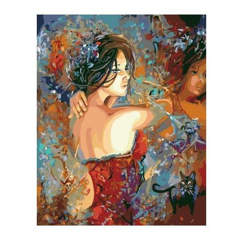 Купить ВанГогВоМне Картина по номерам Грация , 40х50 см (ZX 22311), Картины по номерам и контурам