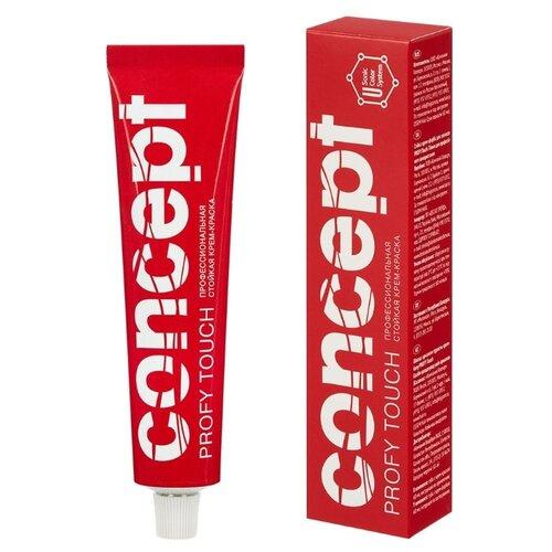 Concept Profy Touch color cream стойкая крем-краска для волос, 60 мл, 6.00 интенсивный русый l oreal paris excellence стойкая крем краска для волос excellence оттенок темно русый