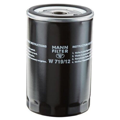 Масляный фильтр MANNFILTER W719/12