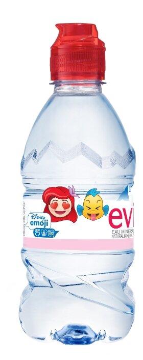 Детская вода Evian Спорт, c рождения (24 шт)