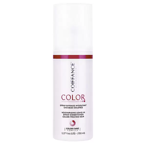 Coiffance Color Leave-In Spray - Спрей-кондиционер двухфазный увлажняющий для окрашенных волос, 150 мл