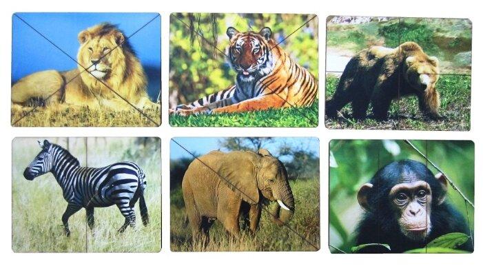 Набор пазлов Smile Decor Дикие животные (Р011)
