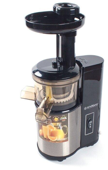 Соковыжималка ENDEVER Sigma 95, шнековая, золотистый и черный [80211]