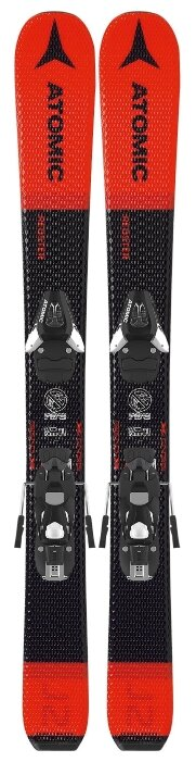 Горные лыжи Atomic Redster J2 70-90 с креплениями C5 Red/Black 19-20