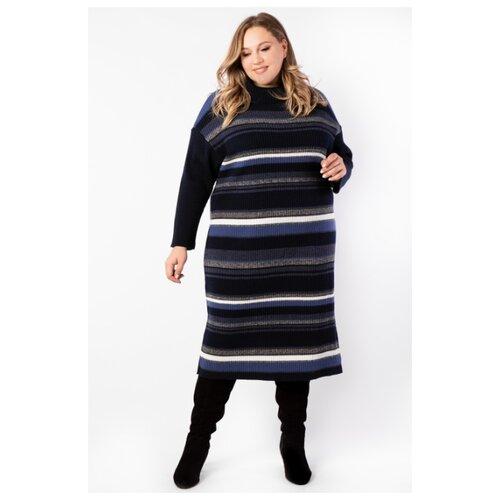 Платье ARTESSA PP90128STR05 темно-синий размер 68-70 платье molo размер 68 синий