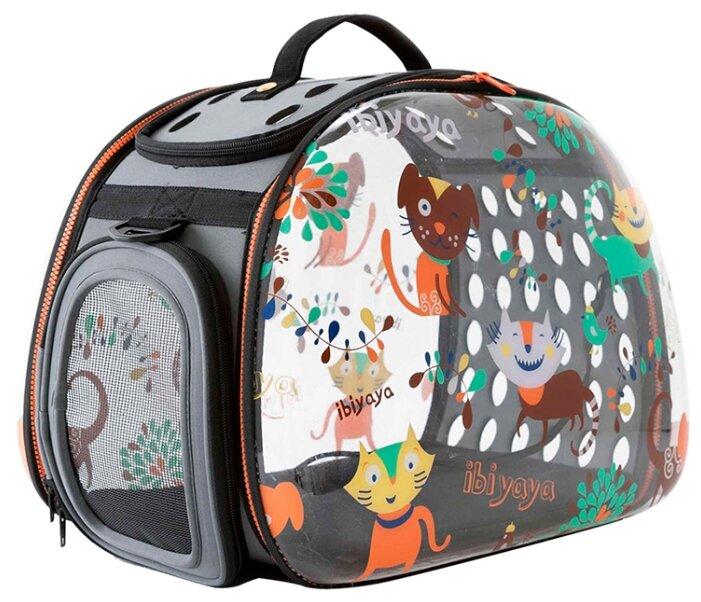 Переноска-сумка для собак Ibiyaya Transparent Hardcase 46х30х32 см