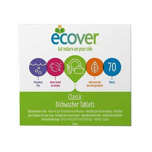 Ecover экологические таблетки для посудомоечной машины, 70 шт.