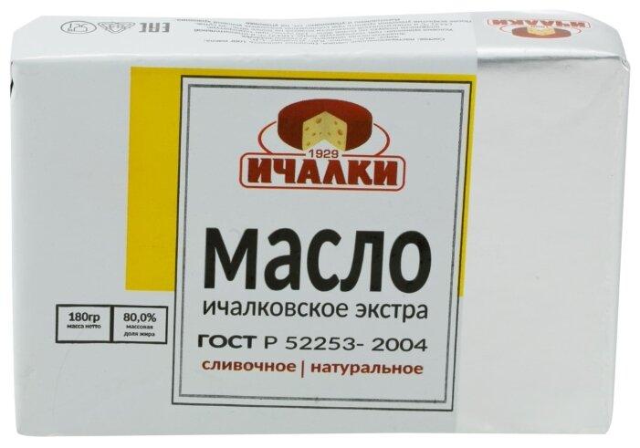 Ичалки Масло сливочное Ичалковское экстра 80%, 180 г