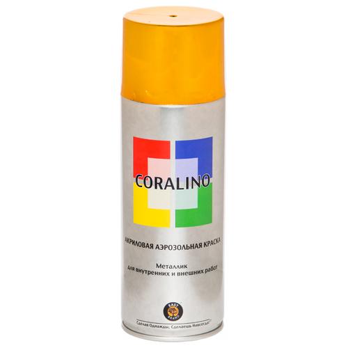 Краска Eastbrand Coralino металлик яркое золото 520 мл