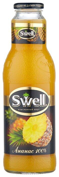 Сок Swell Ананас, без сахара, 0.75 л