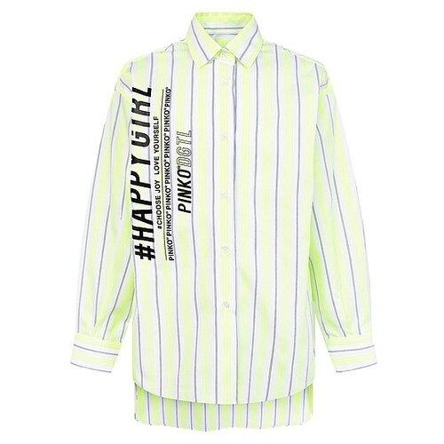 Рубашка Pinko размер 134, желтый